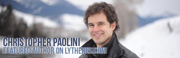 christopher paolini featured author week